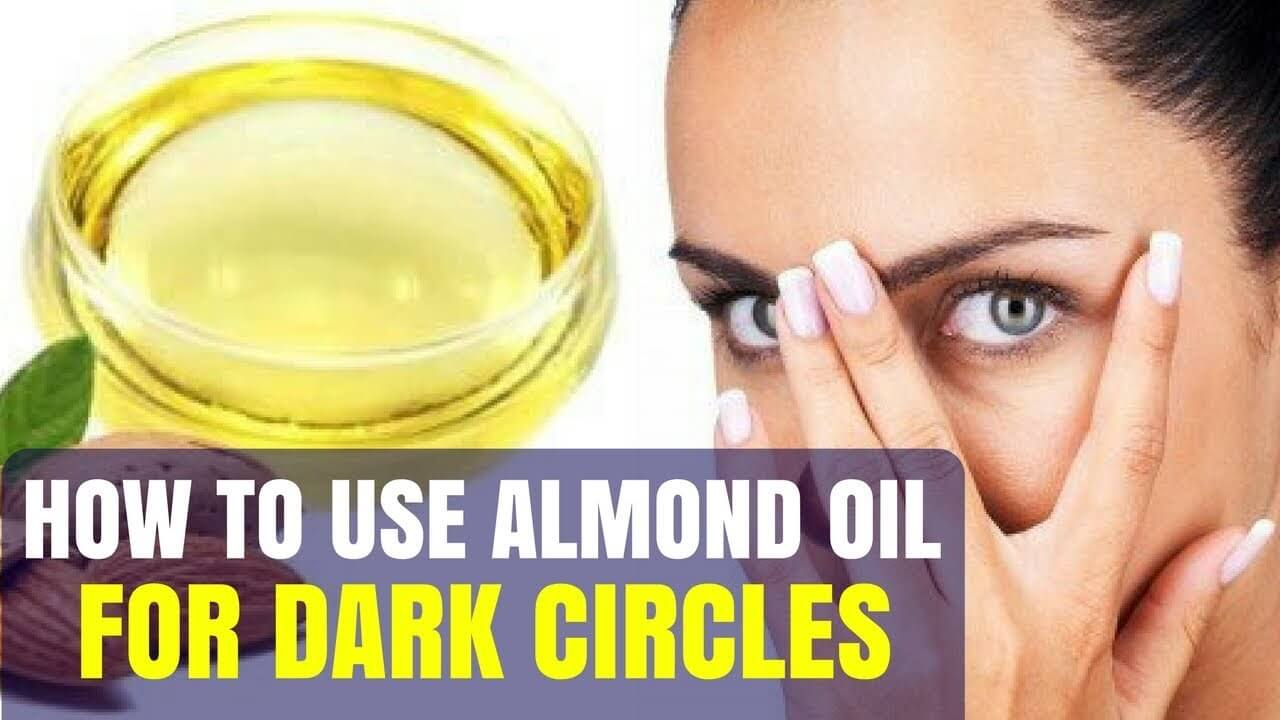 almond oil for dark circle