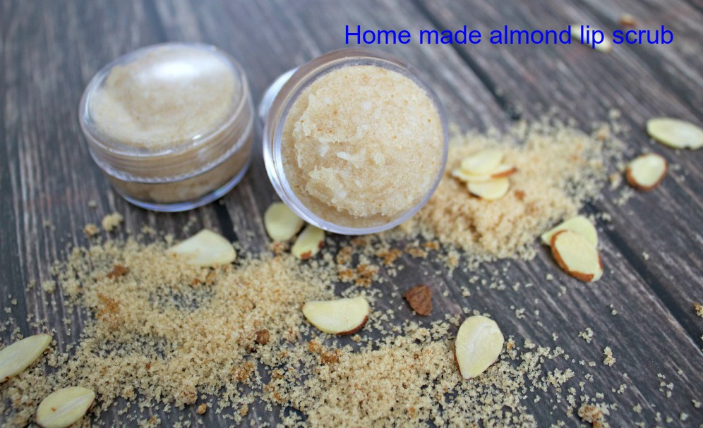 Almond Lip Scrub