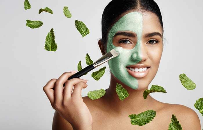 Mint-Leaves-Face-Mask-For-Acne-