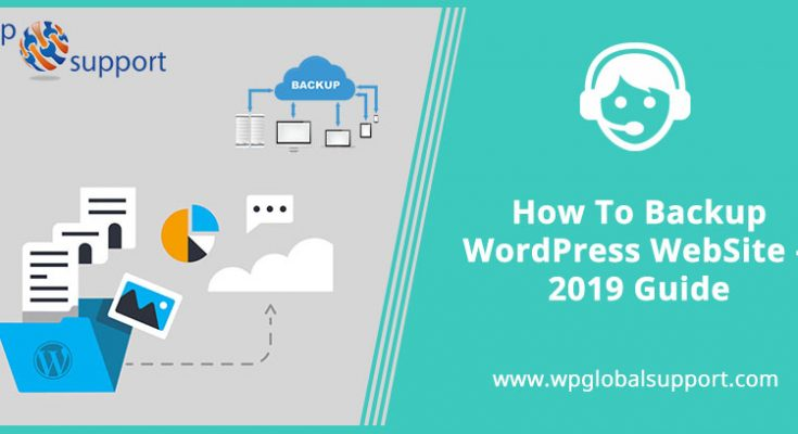 How-To-Backup-WordPress-WebSite-2019-Guide