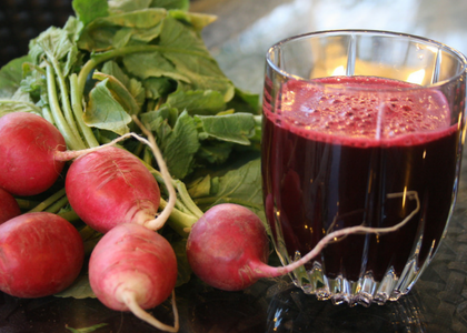 How to make radish juice