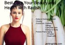benefits of radish for skin