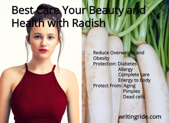 benefits of radish for skin